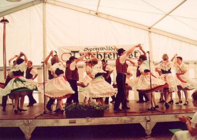 Tanz auf der Bühne